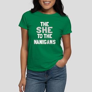 The she to the nanigans Women's Dark T-Shirt