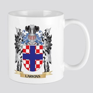 Larkins Coat of Arms - Family Crest Mugs