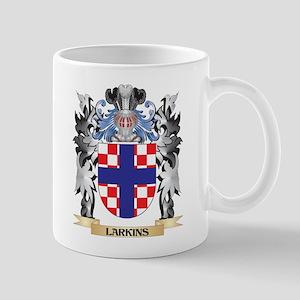 Larkins Coat of Arms - Family Crest Mugs
