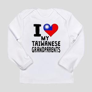 I Heart My Taiwanese Grandparents Long Sleeve T-Sh