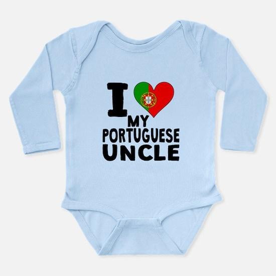 I Heart My Portuguese Uncle Body Suit