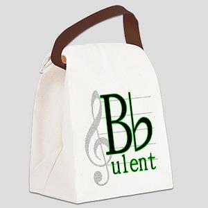 B Flat-ulent Canvas Lunch Bag