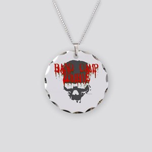 Band Camp Zombie Necklace Circle Charm