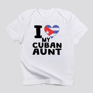 I Heart My Cuban Aunt Infant T-Shirt