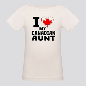 I Heart My Canadian Aunt T-Shirt