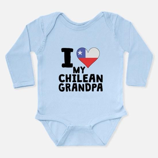 I Heart My Chilean Grandpa Body Suit