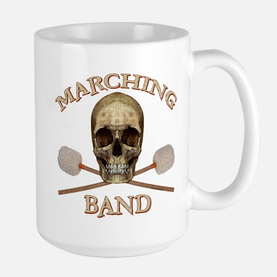 Marching Band Pirate Large Mug