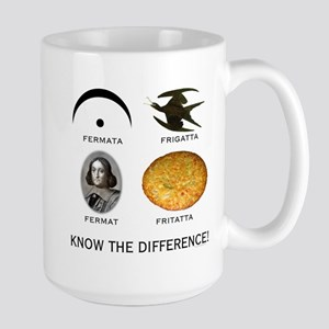 Fermata: Know the Difference Large Mug