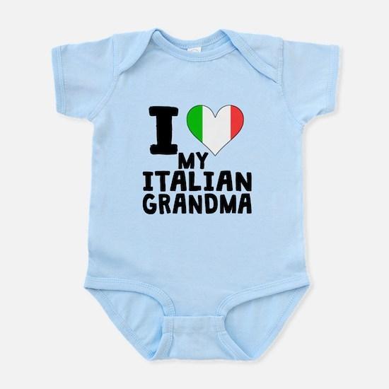 I Heart My Italian Grandma Body Suit