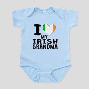 I Heart My Irish Grandma Body Suit