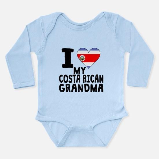 I Heart My Costa Rican Grandma Body Suit