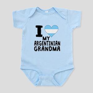 I Heart My Argentinian Grandma Body Suit