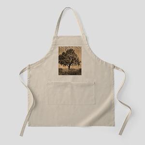 romantic landscape oak tree Apron