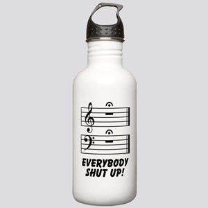 Everybody Shut Up! Stainless Water Bottle 1.0L