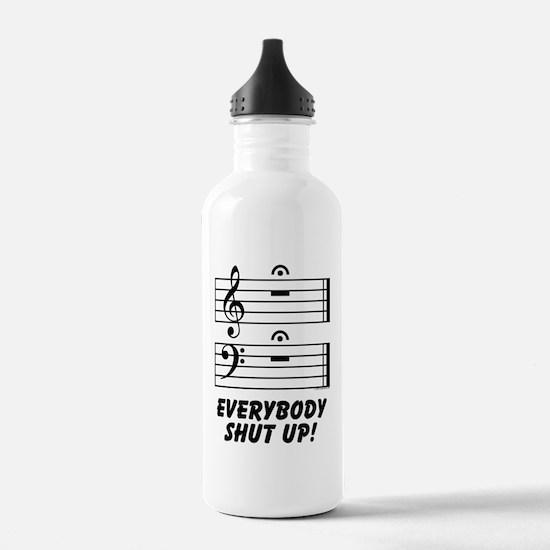 Everybody Shut Up! Water Bottle