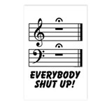 Everybody Shut Up! Postcards (Package of 8)