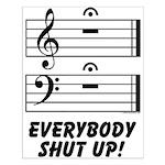 Everybody Shut Up! Small Poster