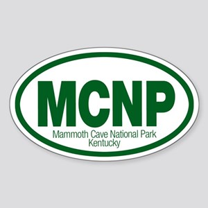Mammoth Cave National Park Oval Sticker