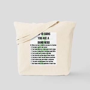 Band Nerd Top 10 Tote Bag