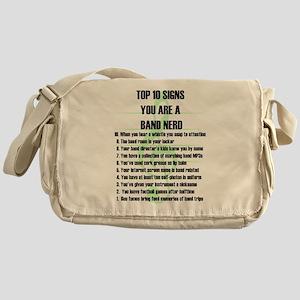 Band Nerd Top 10 Messenger Bag