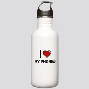 I Love My Phobias Stainless Water Bottle 1.0L