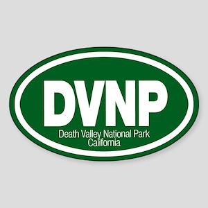 Death Valley National Park Oval Sticker