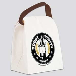 Scoot Jockeys Milwaukee Chapter Canvas Lunch Bag