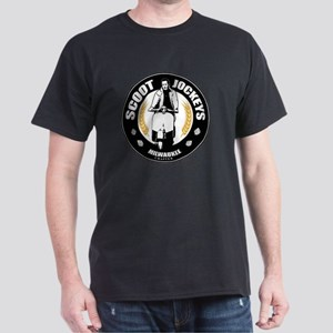Scoot Jockeys Milwaukee Chapter Dark T-Shirt