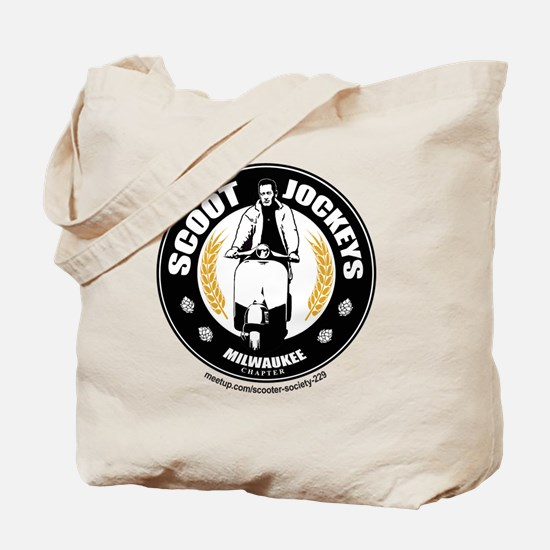 Scoot Jockeys Milwaukee Chapter Tote Bag