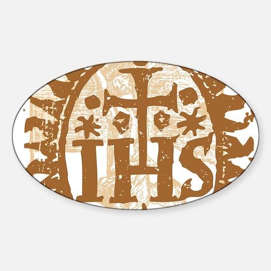IHS (Vintage Grunge) Decal