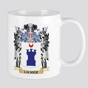 Laurier Coat of Arms - Family Crest Mugs