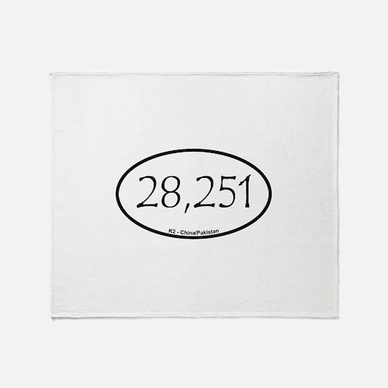 K2 Throw Blanket