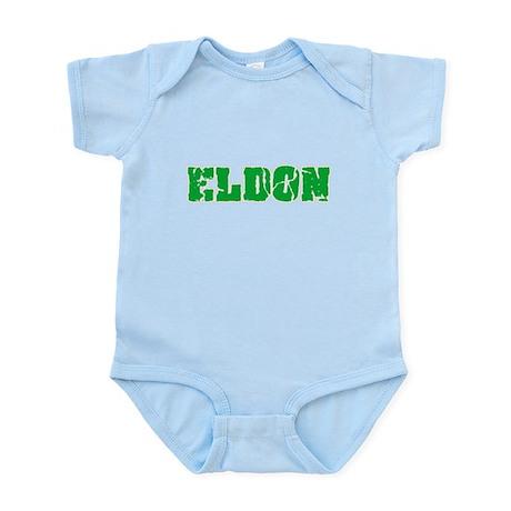 Eldon Name Weathered Green Design Body Suit
