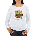 Pazos Family Crest Women's Long Sleeve T-Shirt