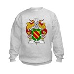 Pazos Family Crest Kids Sweatshirt