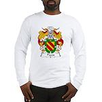 Pazos Family Crest Long Sleeve T-Shirt