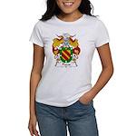 Pazos Family Crest Women's T-Shirt