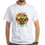 Pazos Family Crest White T-Shirt