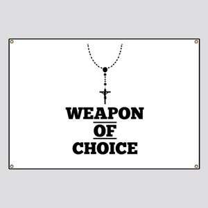 Weapon of Choice Banner