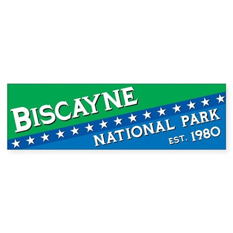 Biscayne National Park Bumper Sticker