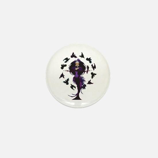 Morrigan Mini Button