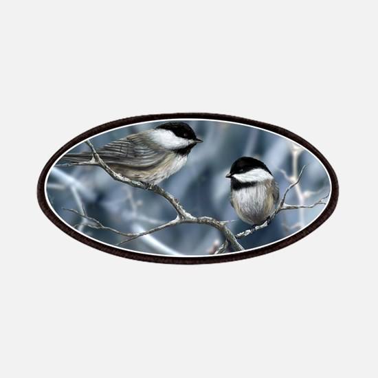 chickadee song bird Patch
