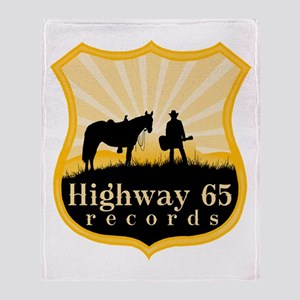 Highway 65 Records Throw Blanket