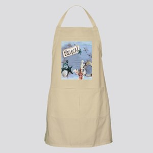 beach coral sea shells  Apron