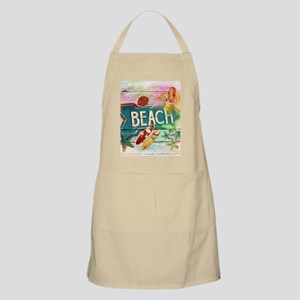 sunrise beach surfer Apron