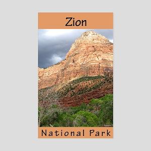 Zion NP (Vertical) Rectangle Sticker