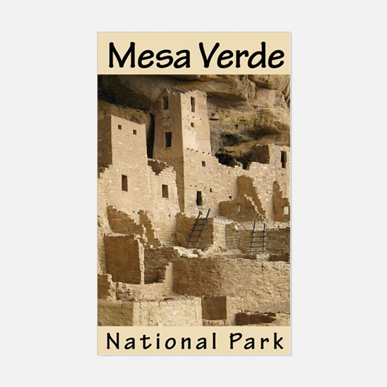 Mesa Verde NP (Vertical) Rectangle Decal