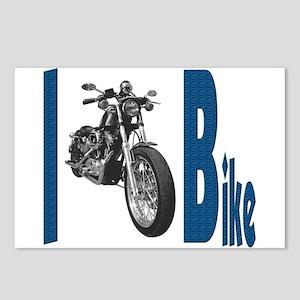I Bike Postcards (Package of 8)