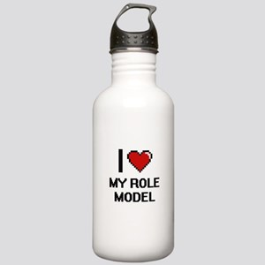 I Love My Role Model Stainless Water Bottle 1.0L