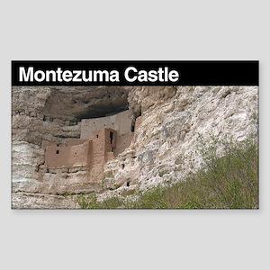 Montezuma Castle National Mon Sticker (Rectangular